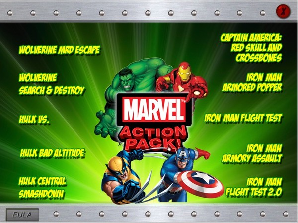 ����������Ϸ��Marvel Action Pack