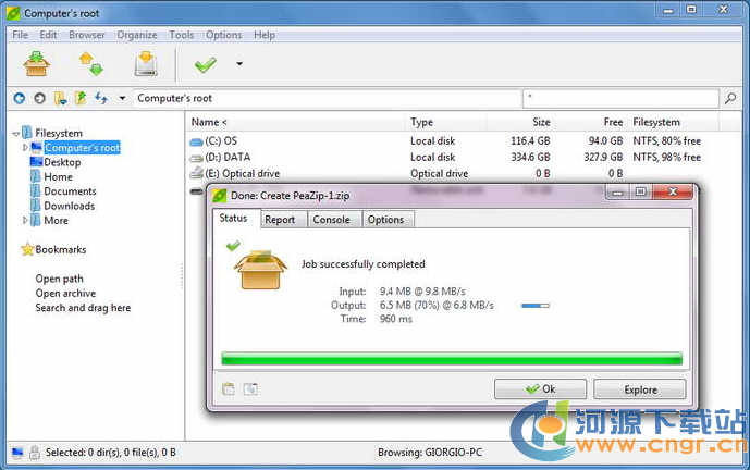 PeaZip for Windows (x64) 3.5.1