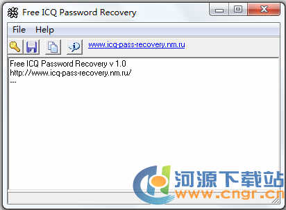 Free ICQ Password Recovery 1.0 绿色版