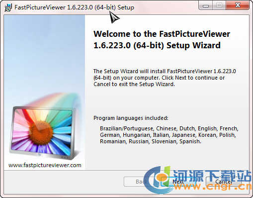 FastPictureViewer x64(极速看图软件) 1.9 Build 300 多语言官方安装版