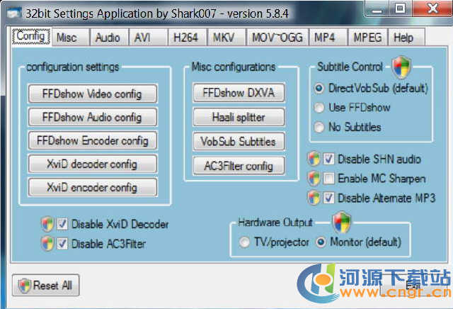 Advanced Vista Codec Package 6.0.0