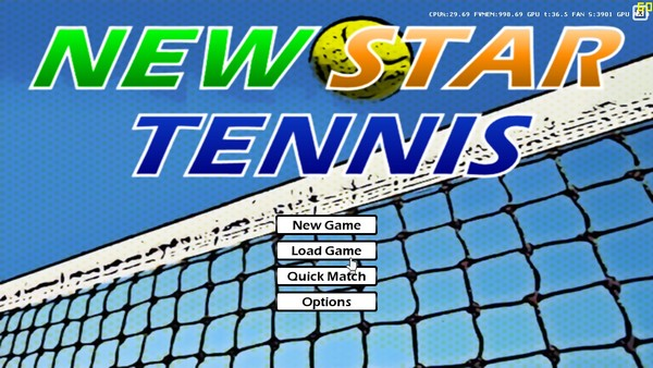 网球新星 New Star Tennis