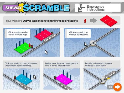 混乱地铁 Subway Scramble
