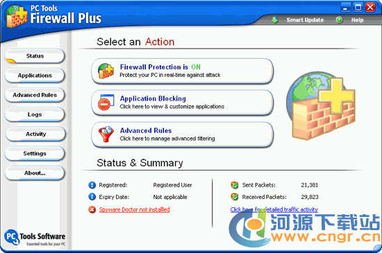 PC Tools Firewall Plus 7.0.0.123 多语言官方安装版