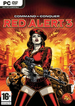 �t色警戒3 Command & Conquer Red Alert 3