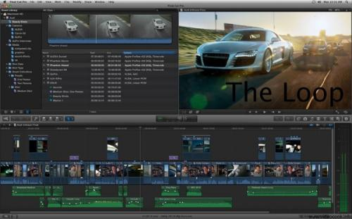 Apple Final Cut Pro X 10.0 Complete 官方版 Apple��l制作�件