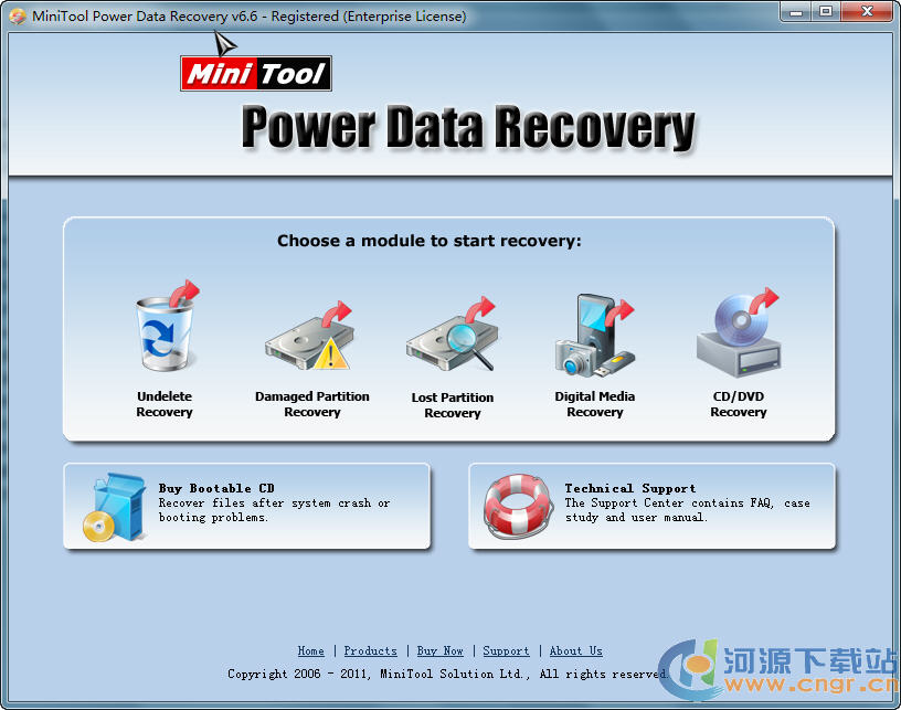 Minitool Power Data Recovery 6.6 绿色注册版