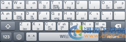 WI输入法 for iPhone 2.02 支持IOS6系统