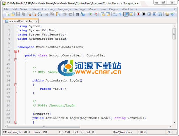 Notepad++(代码编辑器) v7.6.0.0 多语言官方最新版