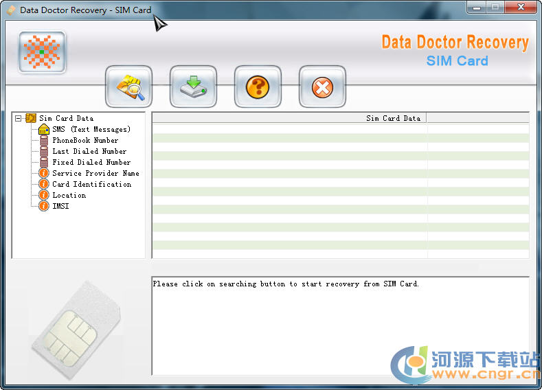 SIM卡数据恢复(Data Doctor Recovery SIM Card) 3.0.1.5 特别版