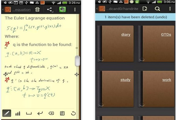 好���P�(��I版) Handrite Notes Pro For Android 2.04