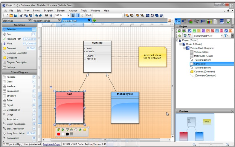 Software Ideas Modeler(uml建模工具) 9.11 官方�G色版