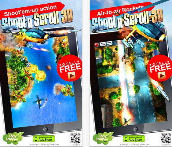 3D天空霸主 Shoot'n'Scroll 3D arcade v2.0