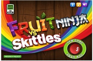 水果忍者彩虹糖 Fruit Ninja vs Skittles v1.0.0