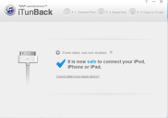 iTunBack v1.0.2 官方版 iPad/iPod/iphone备份软件