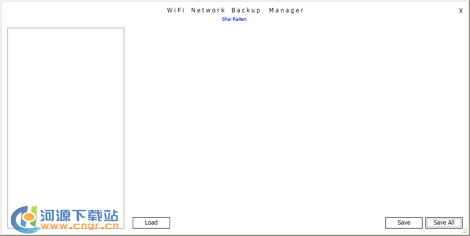 Wi-Fi Network Backup Manager v1.0 �G色版 �浞�o��W�j�O置和密�a