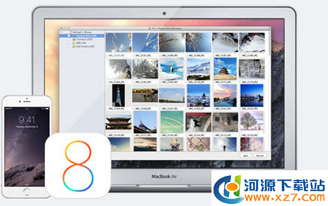 iPhone Data Recovery for Mac 1.3.0 官方版 iPhone数据恢复工具