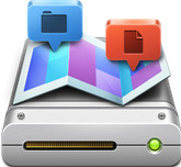Disk Map for Mac 1.2 官方版 文件�A存����悠�