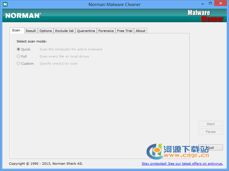 Norman Malware Cleaner(�阂廛�件清理工具)  2.08.08 �G色版
