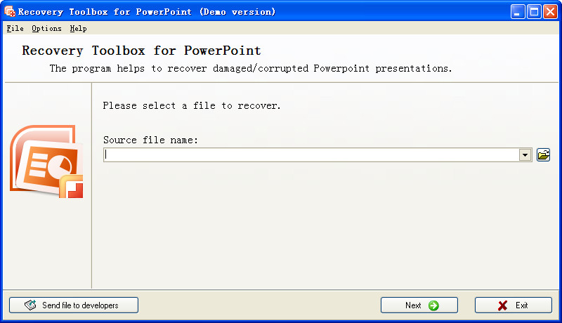 Recovery Toolbox for PowerPointppt v2.0 绿色版 ppt文档修复工具箱